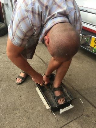 Fixing our braai
